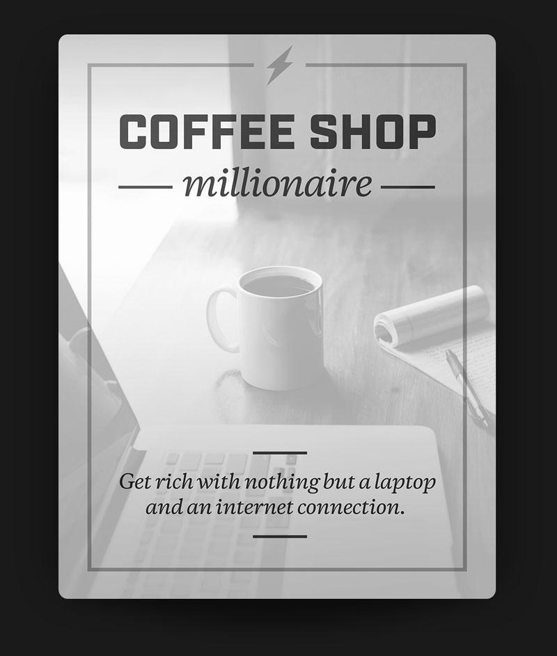 coffeeshop millionaire